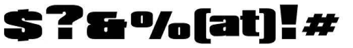 XXII BLACK-BLOCK Norm Font OTHER CHARS