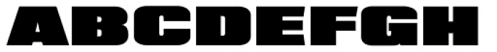 XXII BLACK-BLOCK Norm Font UPPERCASE