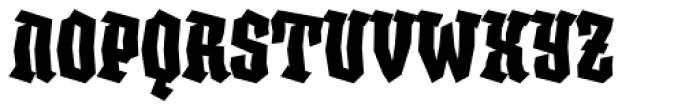 XXII BLASPHEMA Bold Condensed Font UPPERCASE