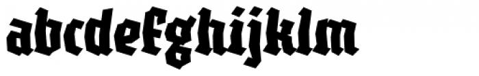 XXII BLASPHEMA Bold Condensed Font LOWERCASE