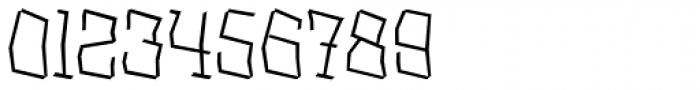 XXII BLASPHEMA Light Font OTHER CHARS