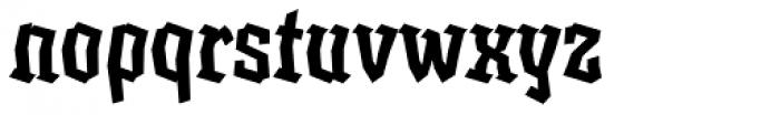 XXII BLASPHEMA Medium Condensed Font LOWERCASE