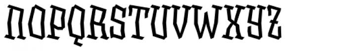 XXII BLASPHEMA Regular Condensed Font UPPERCASE