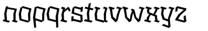 XXII BLASPHEMA Regular Extended Font LOWERCASE