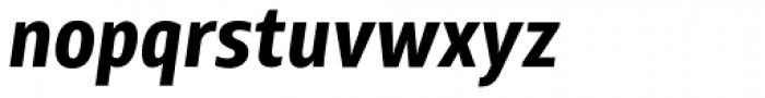 XXII Centar Bold Cnd Italic Font LOWERCASE
