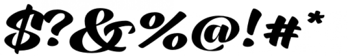 XXII CoolScript Bold Font OTHER CHARS