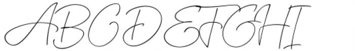 XXII CoolScript Extra Thin Font UPPERCASE