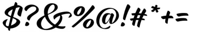 XXII CoolScript Medium Font OTHER CHARS