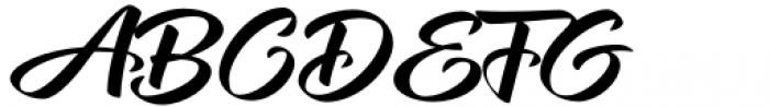 XXII CoolScript Medium Font UPPERCASE