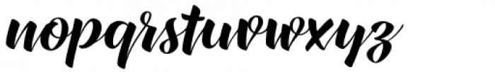 XXII CoolScript Medium Font LOWERCASE