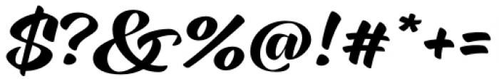 XXII CoolScript Semi Bold Font OTHER CHARS