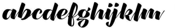 XXII CoolScript Semi Bold Font LOWERCASE