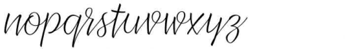 XXII CoolScript Thin Font LOWERCASE