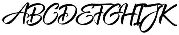 XXII CoolScript Font UPPERCASE