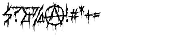 XXII DaemonRunes Font OTHER CHARS