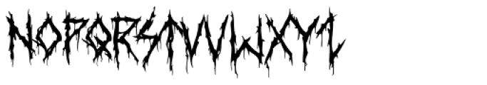 XXII DaemonRunes Font UPPERCASE