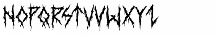 XXII DaemonRunes Font LOWERCASE