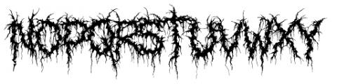 XXII GORY BASTARD Font LOWERCASE