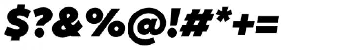 XXII Geom Black Italic Font OTHER CHARS
