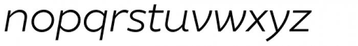 XXII Geom Book Italic Font LOWERCASE