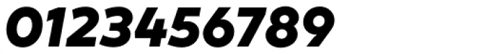 XXII Geom Heavy Italic Font OTHER CHARS