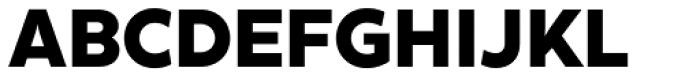 XXII Geom Heavy Font UPPERCASE