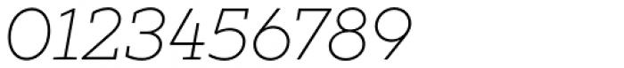 XXII Geom Slab Light Italic Font OTHER CHARS