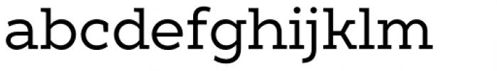 XXII Geom Slab Font LOWERCASE