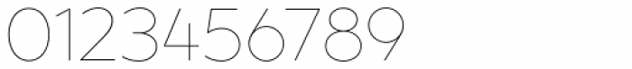 XXII Geom Thin Font OTHER CHARS
