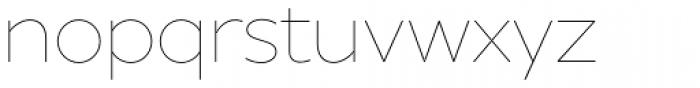 XXII Geom Thin Font LOWERCASE