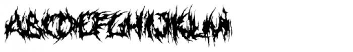 XXII GoreGrinder Font LOWERCASE