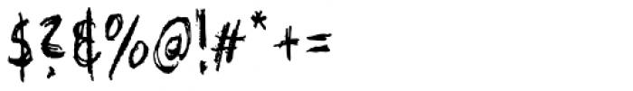 XXII Grober Bleistift Font OTHER CHARS