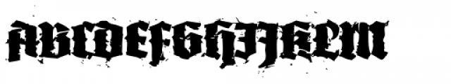 XXII In Ashes Black Extended Font UPPERCASE