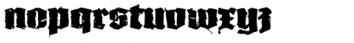 XXII In Ashes Black Extended Font LOWERCASE