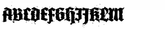XXII In Ashes Black Font UPPERCASE