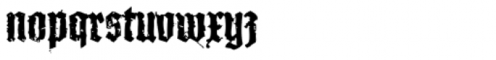 XXII In Ashes Bold Condensed Font LOWERCASE