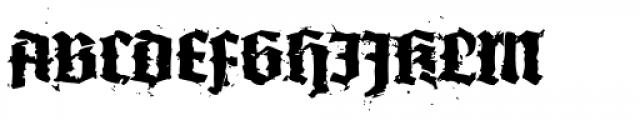 XXII In Ashes Bold Extended Font UPPERCASE