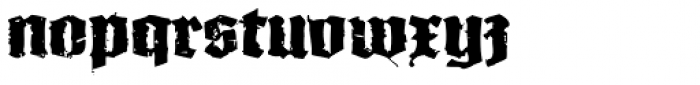 XXII In Ashes Bold Extended Font LOWERCASE