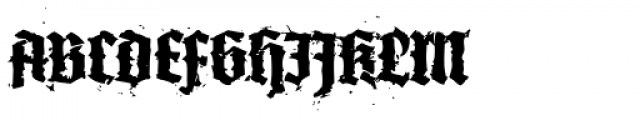XXII In Ashes Bold Font UPPERCASE
