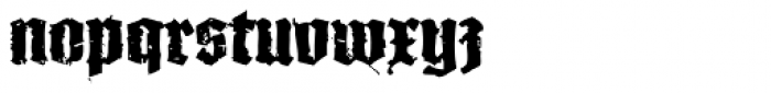 XXII In Ashes Bold Font LOWERCASE