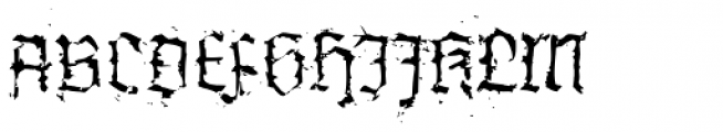 XXII In Ashes Light Extended Font UPPERCASE