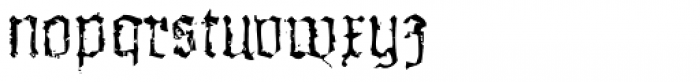 XXII In Ashes Light Extended Font LOWERCASE