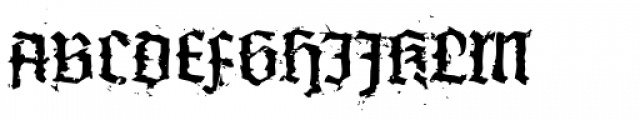 XXII In Ashes Medium Extended Font UPPERCASE