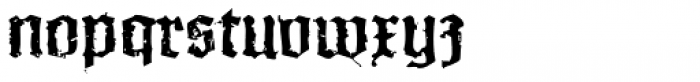 XXII In Ashes Medium Extended Font LOWERCASE