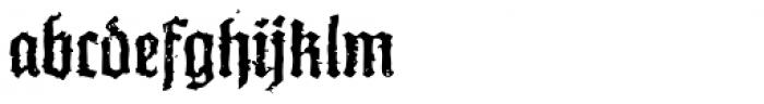 XXII In Ashes Medium Font LOWERCASE
