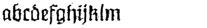 XXII In Ashes Regular Extended Font LOWERCASE