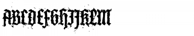 XXII In Ashes SemiBold Condensed Font UPPERCASE