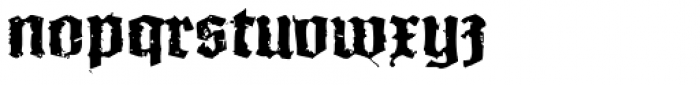 XXII In Ashes SemiBold Extended Font LOWERCASE