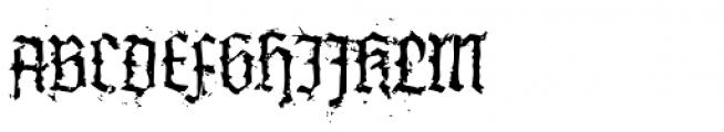 XXII InAshes Font UPPERCASE
