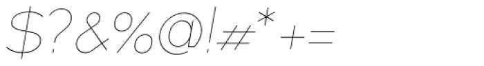 XXII MISANTHROPIA Italic Anorexa Font OTHER CHARS